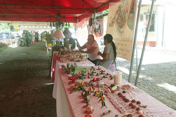La feria artesanal de Santa Inés