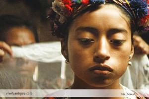 Mercedes Coroy en una de las escenas de la película